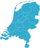 Netherlands country — Stock Photo