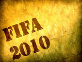 Football world cup 2010 concept — Stock Photo