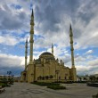 Stock Photo: Heart Chechnya. Mosque in Grozny