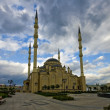 Heart Chechnya. Mosque in Grozny — Stock Photo