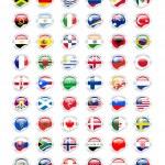 Sticky flag — Stock Photo