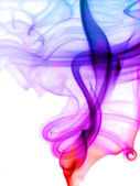 Color smoke — Stock Photo
