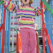 Little girl on playground — Stock Photo #2894535
