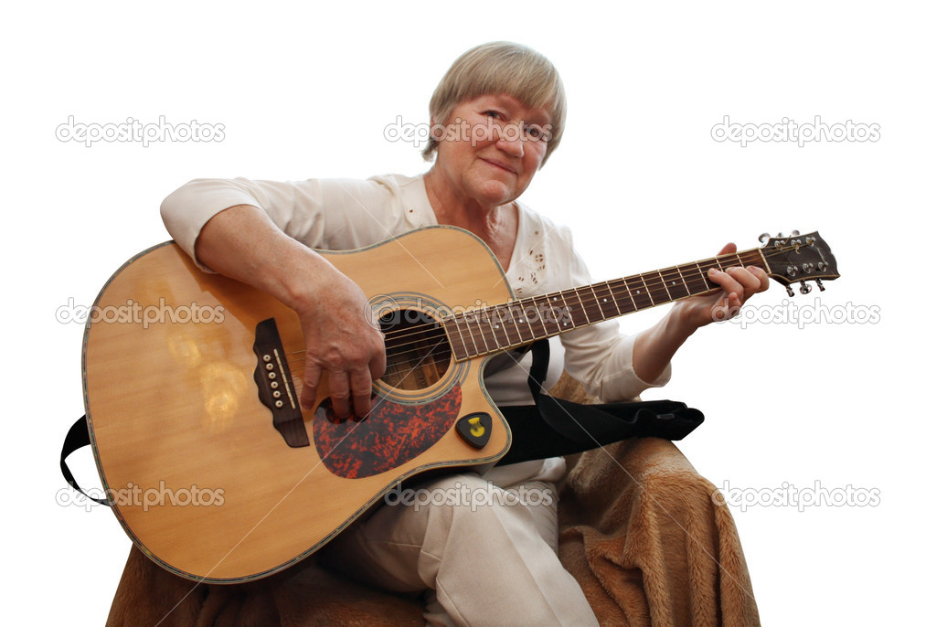 depositphotos 2917936 Mature woman playing acoustic guitar Free Hairy Anal Sex anal fucking
