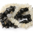 Beads made of onyx with - Stock fotografie