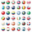 Pack of Almost 40 Flags — Imagen vectorial