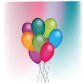 Balões — Vetor de Stock