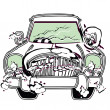 Royalty-Free Stock 矢量图片: Car illustration