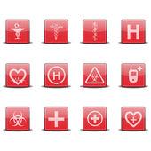 Medical Icons — Stockvektor
