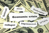 Economic crisis — Stock Photo
