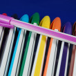 Stock Photo: Colored pens