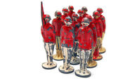 Old toy soldiers — Stock Photo