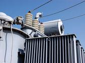 Industrial High voltage converter — Stock Photo