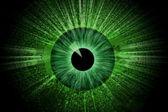 Green eye — Stock Photo