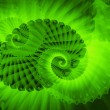 Stock Photo: Fractal swirls