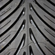 Tyre detail — Stock Photo