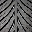 Royalty-Free Stock Photo: Tyre detail