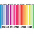 Color Bar Code — Stock Photo #2929494