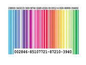Color Bar Code — Stock Photo