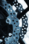 Brake disc detail — Stock Photo