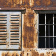 Rusty windows — Stock Photo #2993730