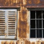 Rusty windows — Stock Photo #2993730