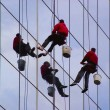 Window washers — Stock Photo #2994692