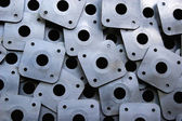 Perforated plates — Stock Photo