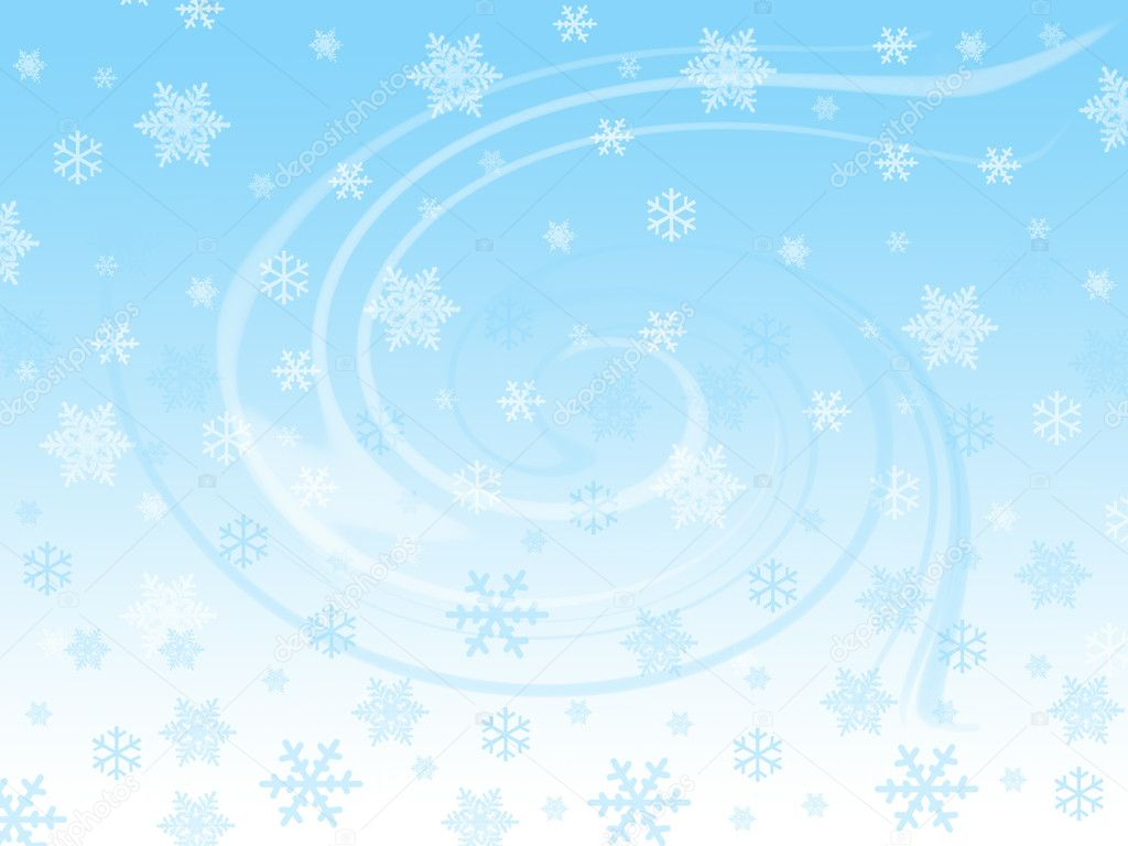 Snow flakes and winter spirit — Stock Photo #3013704