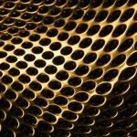 Altın ızgara — Stok fotoğraf
