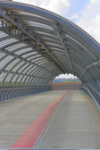 Structure of modern pedestrian tunnel — Stock Photo