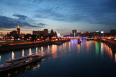 Night in Moscow — Stock Photo