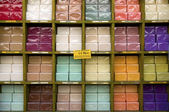 Soap shop in Provence — Stock Photo