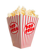Wide popcorn — Stock Photo