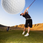 Golf drive — Stock Photo