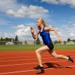 Running athlete — Stock Photo #2965791