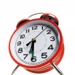 Royalty-Free Stock Photo: Red alarm clock