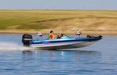 Boat speed — Stock Photo