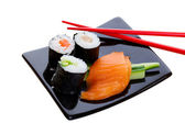 Sushi dish — Stock Photo