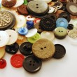 Stock Photo: Coloured buttons