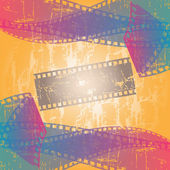 Cinema film — Stock Vector