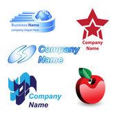 Logotypdesign — Stockvektor