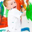 Child painting — Stock Photo #2885367