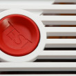 Stock Photo: Smoke fire detector