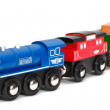 Wooden toy train — Stock Photo #2959314