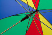 Colorful umbrella — Stock Photo