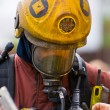 Stock Photo: Emergency Services fire men