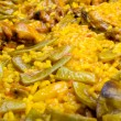 Paella traditional cooked - Stock Photo