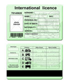 Driver licence — Stock Photo