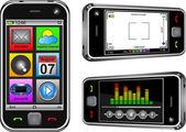 Smartphone — Stock Vector